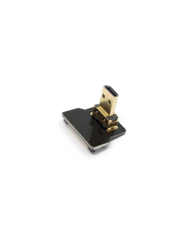 DIY HDMI cable accessories - right angle micro HDMI plug