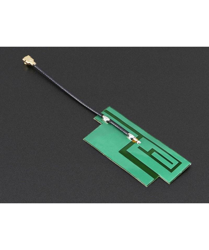 Low Profile Paper Sticker GSM/Cellular Quad Band Antenna - 3dBi uFL